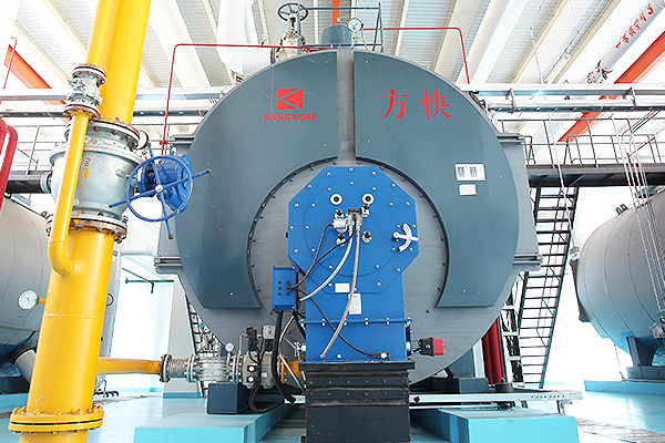 Longgong Holding Group 2 tons integrated condensing fuel gas steam boiler