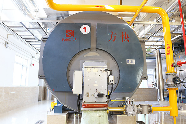 Yili Dairy Group 15 tons integrated condensing gas steam boiler