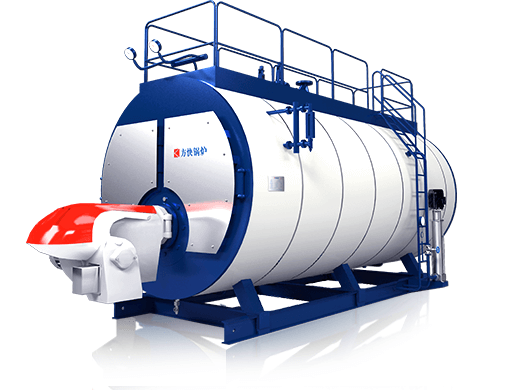 WNS Gas(Oil) fired split steam boiler supplier,price,for sale